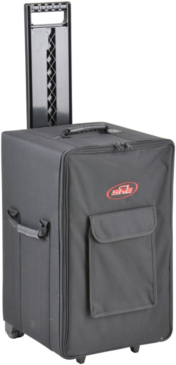 SKB Large Rolling Case w/Wheels and Handle - 21.25