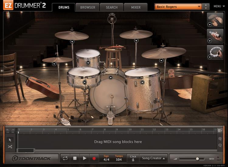 Toontrack Traditional Country EZX image 1