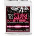 Ernie Ball 2923 M-Steel Super Slinky Electric Strings - .009-.042