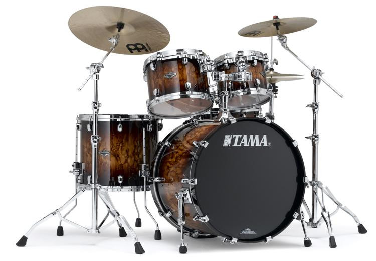 Tama Starclassic Performer B/B Shell Pack - 4-piece - Molten Brown Burst image 1