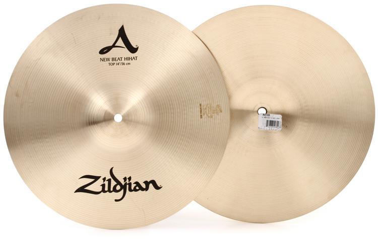 zildjian 14 a zildjian new beat hi hat cymbals sweetwater. Black Bedroom Furniture Sets. Home Design Ideas