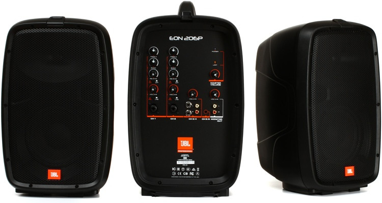 JBL EON206P 6\' Personal PA System image 1