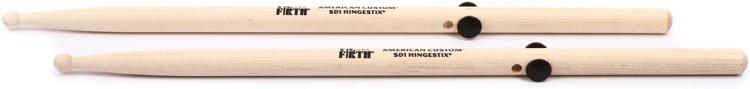 Vic Firth American Custom Drumsticks - SD1 Hingestix, Wood Tip image 1