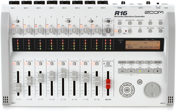 Zoom R16 16-track SD Recorder / Interface / Controller image 1