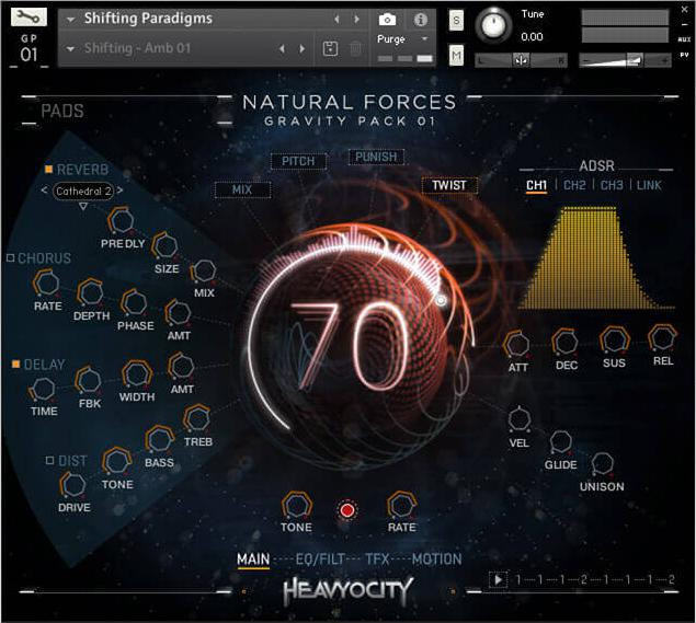 Heavyocity Natural Forces Gravity Pack 01 image 1