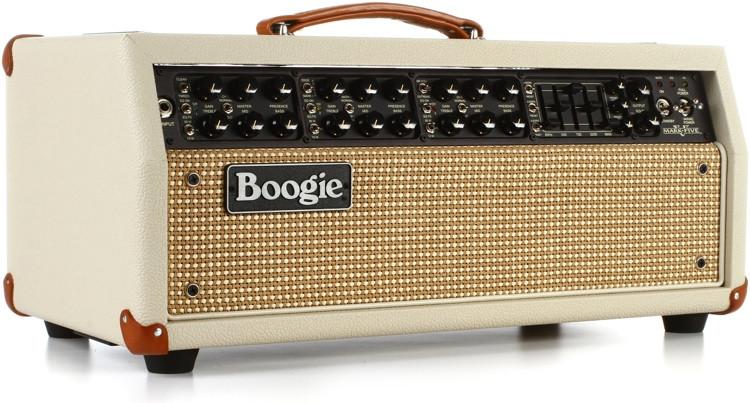 Mesa/Boogie Mark V 90-watt Tube Head - Cream Tolex with Cream Faceplate image 1