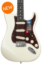 Fender American Elite Stratocaster - Olympic Pearl with Ebony Fingerboard