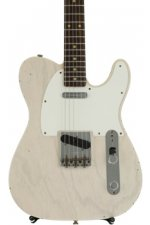 Fender Custom Shop 1959 Journeyman Relic Telecaster - Aged White Blonde with Rosewood Fingerboard and AA Flame maple neck
