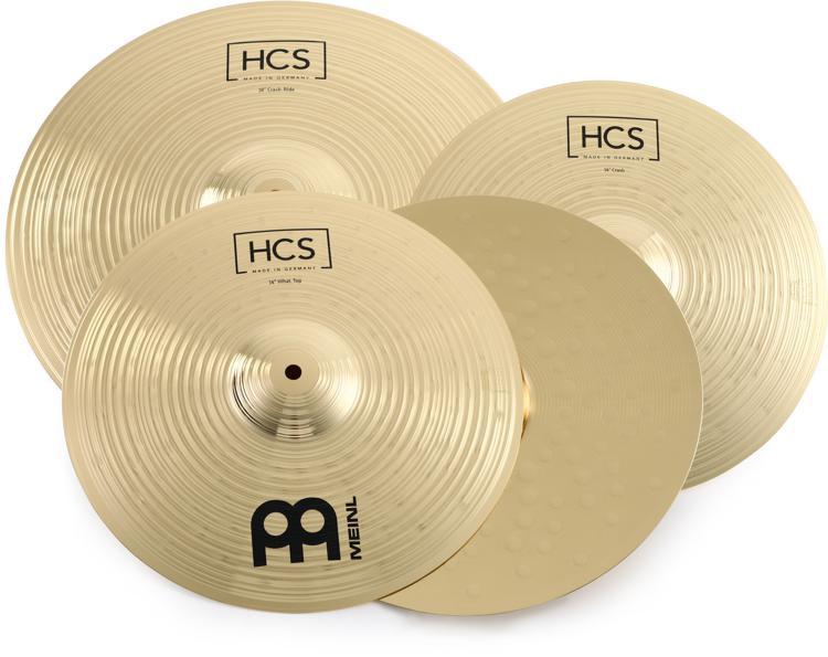 Meinl Cymbals HCS Basic Cymbal Set - 3-piece image 1