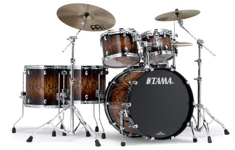 Tama Starclassic Performer B/B Shell Pack - 5-piece - Molten Brown Burst image 1