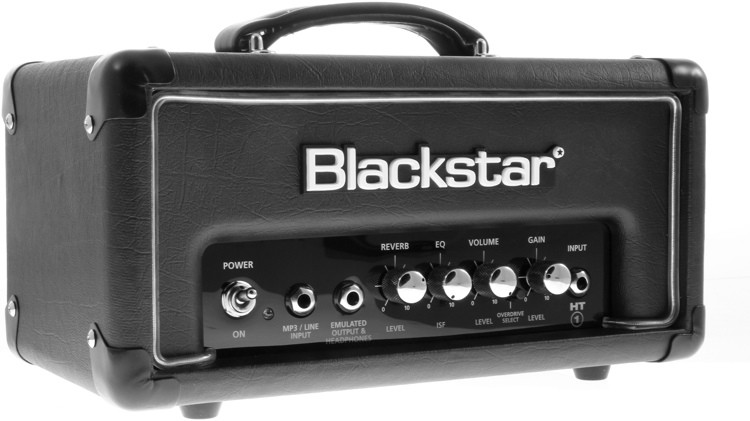 blackstar ht 1rh 1 watt tube head with reverb sweetwater. Black Bedroom Furniture Sets. Home Design Ideas
