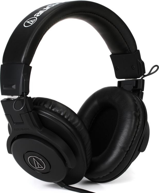 audio technica ath m30x closed back monitoring headphones sweetwater. Black Bedroom Furniture Sets. Home Design Ideas