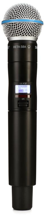 Shure ULXD2/Beta58 - G50 Band - 470-534 MHz image 1