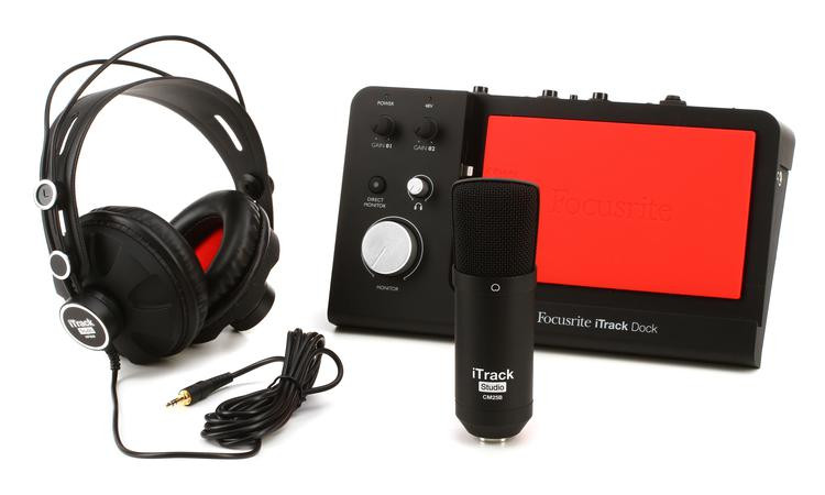 Focusrite iTrack Dock Studio Pack image 1