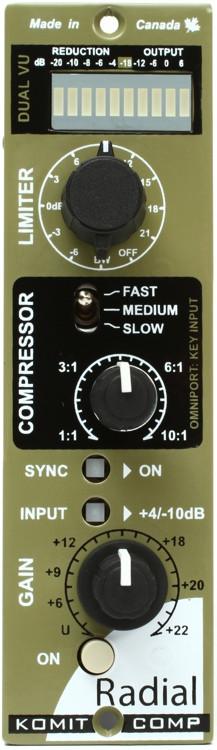 Radial Komit Compressor/Limiter image 1