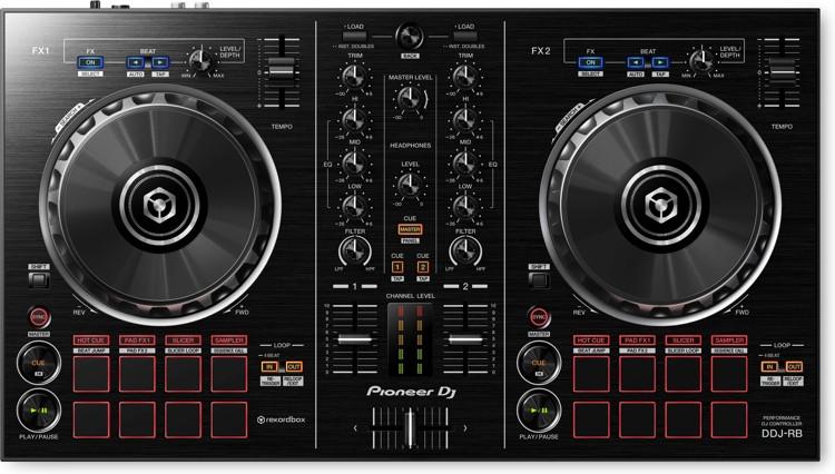 Pioneer DJ DDJ-RB 2-deck rekordbox DJ Controller image 1