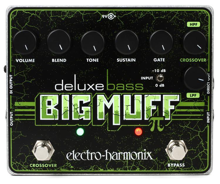Electro-Harmonix Deluxe Bass Big Muff Pi Bass Fuzz Pedal image 1