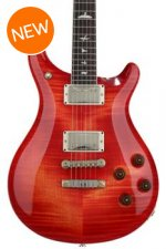 PRS McCarty 594 Figured Top - Blood Orange with Pattern Vintage Neck