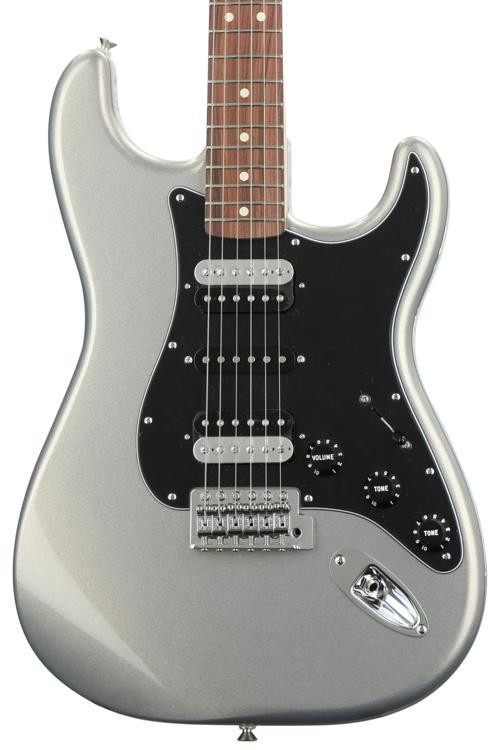 Fender Standard Stratocaster HSH - Ghost Silver with Pau Ferro Fingerboard image 1