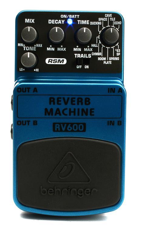 Behringer RV600 Reverb Machine Pedal image 1