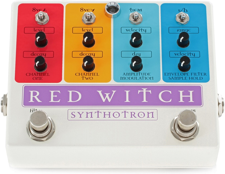Red Witch Synthotron Analog Synth Pedal image 1