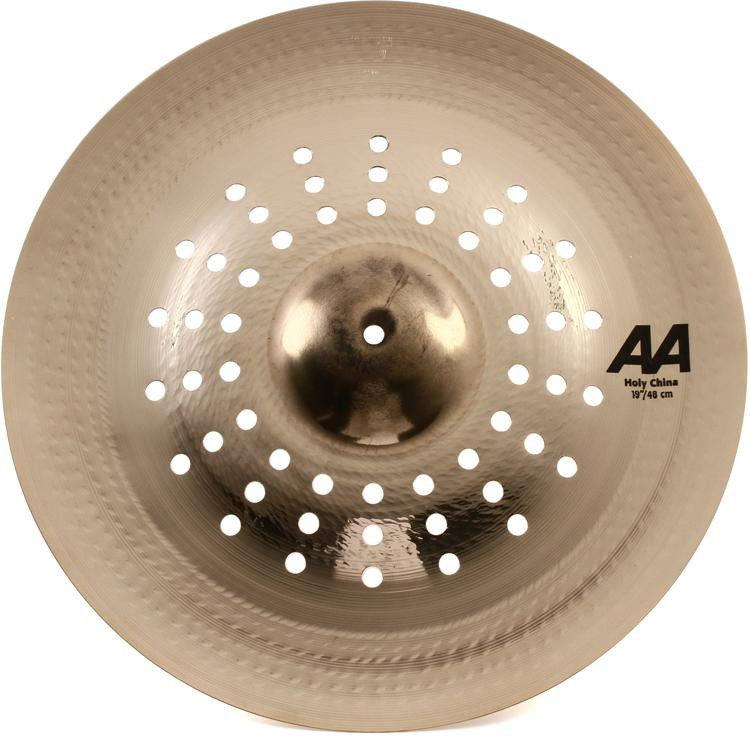sabian aa holy china cymbal 19 brilliant finish sweetwater. Black Bedroom Furniture Sets. Home Design Ideas