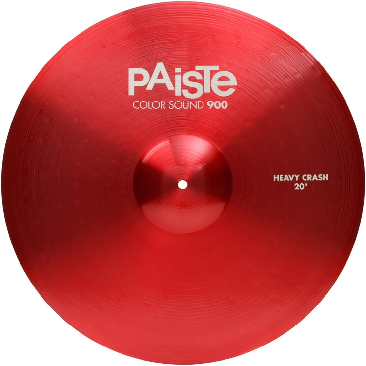 paiste 20 color sound 900 red heavy crash cymbal sweetwater. Black Bedroom Furniture Sets. Home Design Ideas