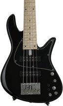 Fodera Emperor Standard Classic - Black, Ash Body, Maple Fingerboard