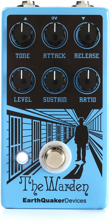 EarthQuaker Devices The Warden Optical Compressor Pedal image 1
