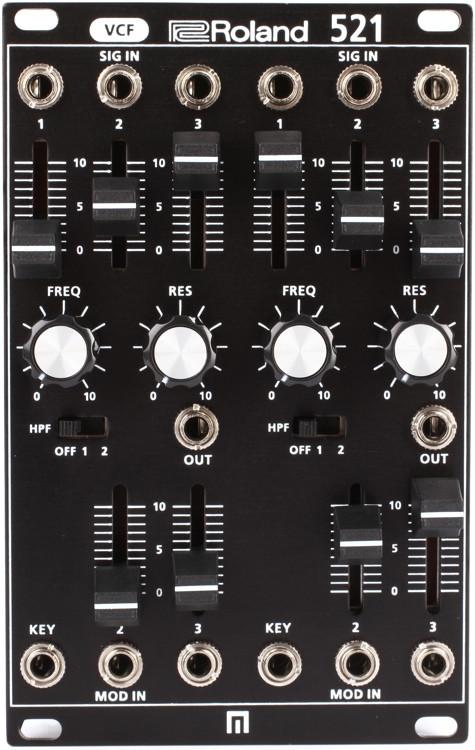 Roland System-500 521 Dual VCF Eurorack Module image 1