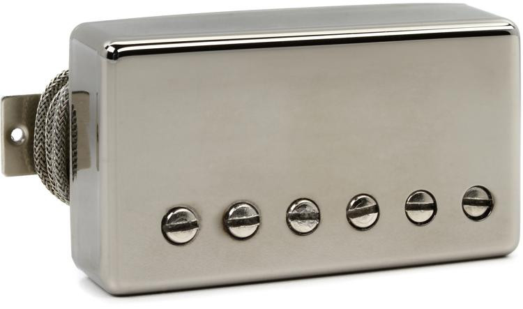 Gibson Accessories \'57 Classic Plus Pickup - Nickel, Bridge, 2-Conductor image 1
