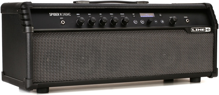 line 6 spider v 240hc 240 watt head and combo amp sweetwater. Black Bedroom Furniture Sets. Home Design Ideas