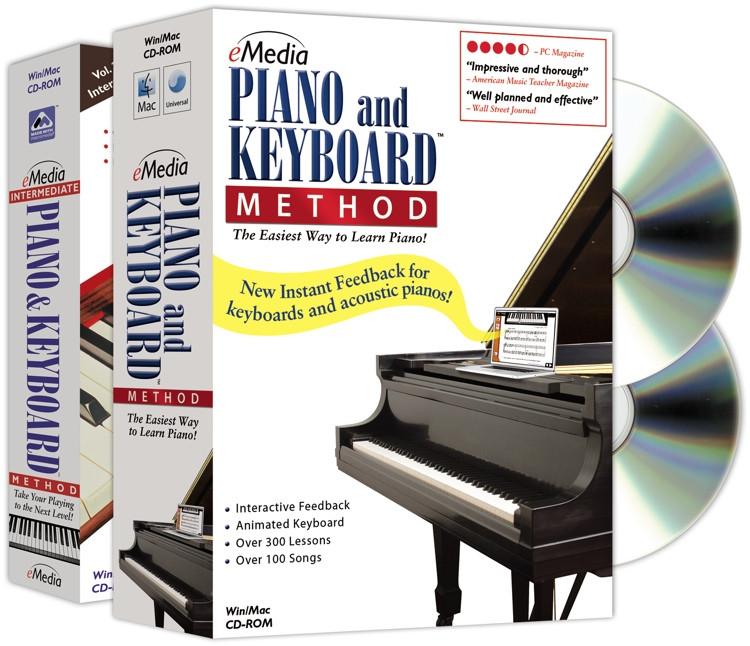eMedia Piano and Keyboard Method Deluxe image 1