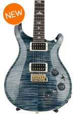 PRS Custom 22 Piezo 10-Top - Faded Whale Blue with Pattern Neck