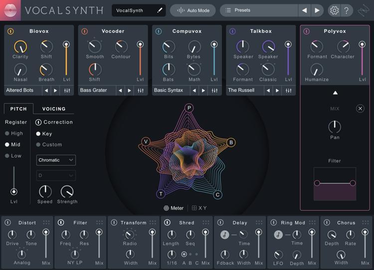 Vocal Effects Plugins : izotope vocalsynth 2 vocal multi effects plug in upgrade from vocalsynth 1 sweetwater ~ Vivirlamusica.com Haus und Dekorationen