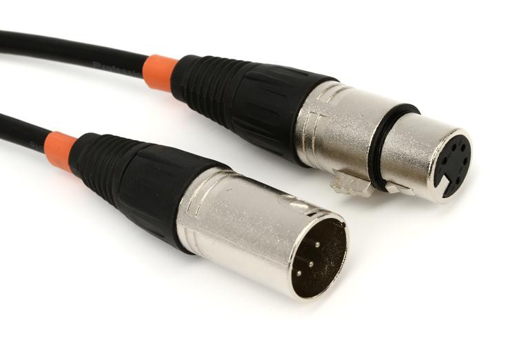 Chauvet Pro 5-pin DMX Cable - 10\' image 1