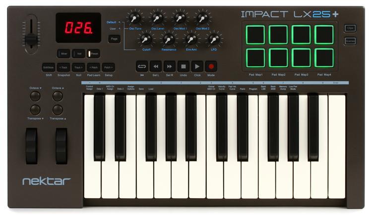 Impact LX25+ Keyboard Controller