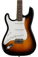 Squier Affinity Stratocaster Left-handed - Brown Sunburst with Rosewood Fingerboard