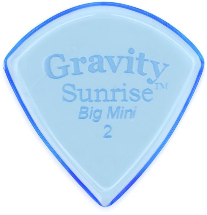 Gravity Picks Sunrise - Big Mini, 2mm, Polished image 1