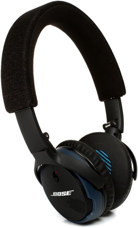 bose soundlink on ear bluetooth headphones black sweetwater. Black Bedroom Furniture Sets. Home Design Ideas