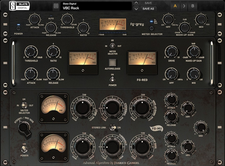 Slate Digital VBC Virtual Buss Compressors Plug-in Bundle (boxed - includes iLok) image 1