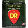 DR Strings DSA-11 Dragon-Skin Phosphor Bronze Medium Lite Coated Acoustic Strings