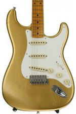 Fender Custom Shop 1950s Stratocaster Journeyman Relic Closet Classic - Aged Aztec Gold with Maple Fingerboard