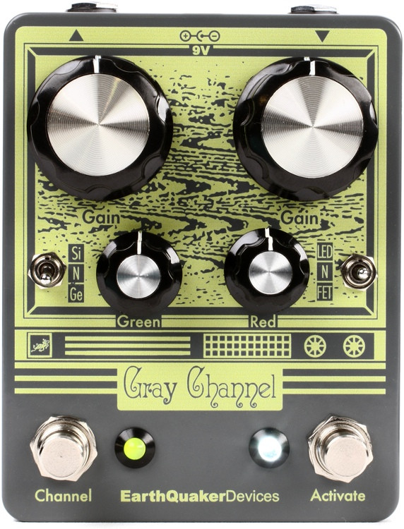 EarthQuaker Devices Gray Channel Overdrive Pedal image 1