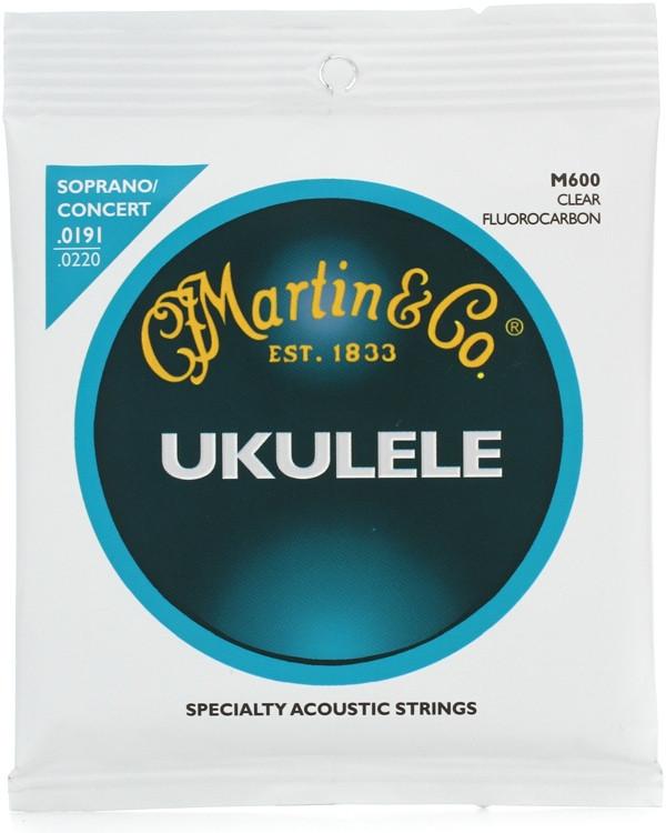 Martin M600 Soprano/Concert Ukulele Fluorocarbon Strings image 1