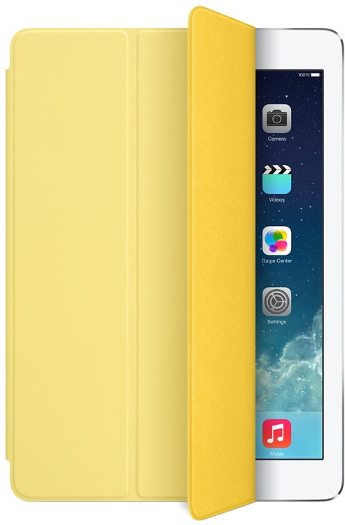 Apple iPad Air Smart Cover - Yellow image 1