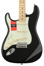 Fender American Professional Stratocaster Left-handed - Black with Maple Fingerboard