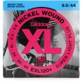 D'Addario XL120+ Nickel Wound Super Light Plus Electric Strings