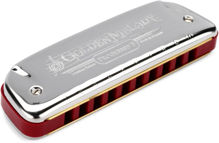 Hohner 542BX-F Golden Melody Diatonic - Key of F image 1