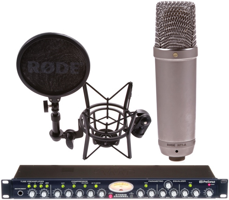 presonus studio channel with rode nt1 a mic month bundle sweetwater. Black Bedroom Furniture Sets. Home Design Ideas